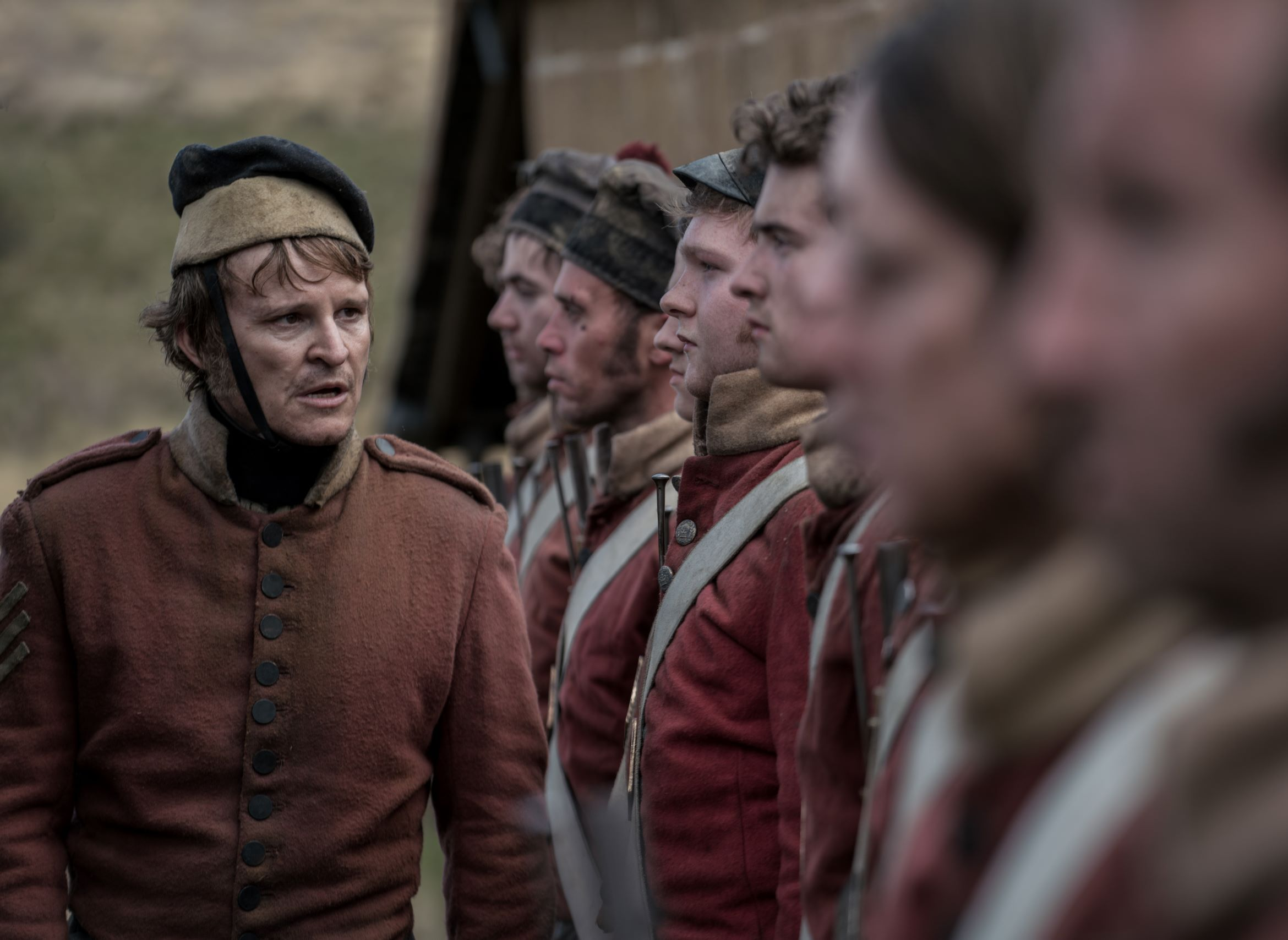 """Movies about colonial Australia from 1825. Damon Herriman as """"Ruse"""""""